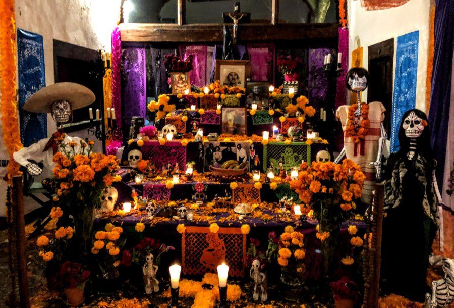 Altar Indio Fernandez, Dia de los Muertos 2018