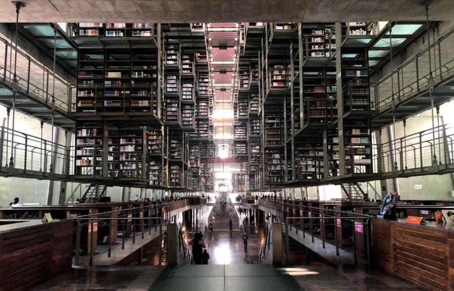 Biblioteca Vasconcelos Cuidad de Mexico